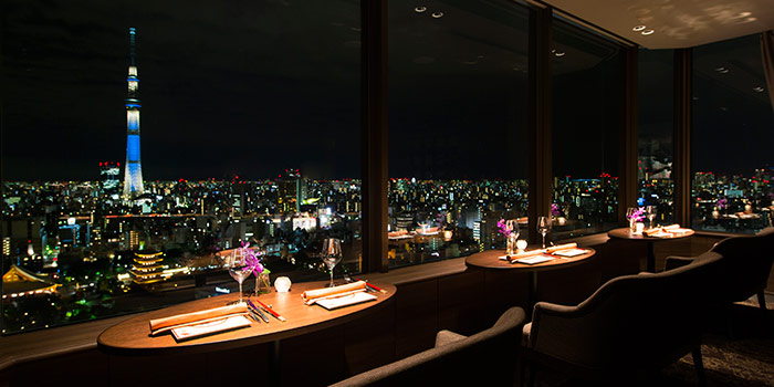 THE DINING 鉄板フレンチ 蒔絵/浅草ビューホテル27F 浅草・押上 ...